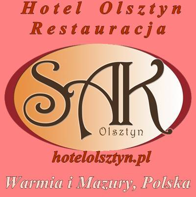 Logo Hotel Olsztyn Hotel Restauracja SAK Warmia i Mazury, Polska