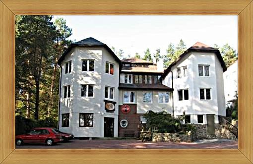 Hotel Olsztyn Noclegi Restauracja SAK Pokoje gościnne przy lesie