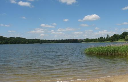 Jeziora w Olsztynie i okolicy plaże Warmia i Mazury