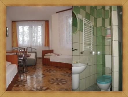 Wieloosobowy pokój z łazienką Hotel Olsztyn Noclegi SAK dla 3 - 4 os.