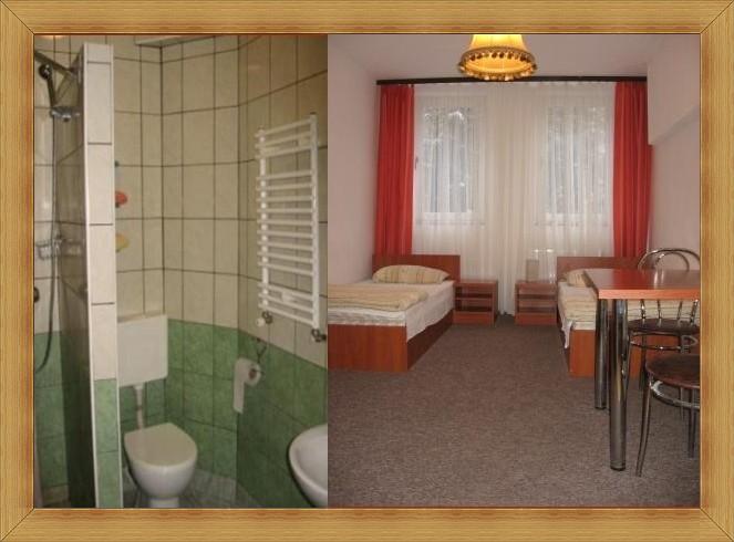 SAK Hotel Olsztyn Pokój dwuosobowy z łazienką TV, WiFi. 2-osobowe noclegi