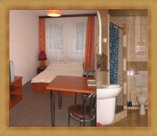 Hotel Olsztyn pokoje do wynajęcia z łazienką Noclegi Restauracja SAK