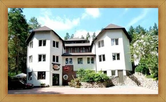 Widok Główny Hotel Olsztyn Noclegi Restauracja SAK Fasada