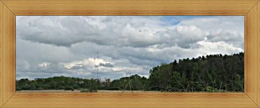 Najwyższa w Polsce wieża TV Olsztyn krajobraz miasta parków