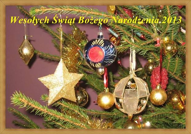 Wesołych Świąt Bożego Narodzenia dla Wszystkich Odwiedzających Nas Gości.