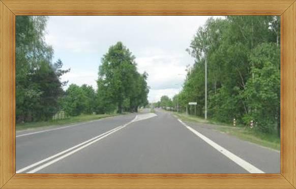Wjazd do Olsztyna trasą 51 pierwszy po lewej UWM Kortowo