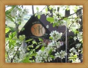 Hotel Olsztyn Restauracja SAK logo na wjeździe