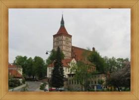 Katedra Olsztyn bazylika zabytki starówka zwiedzanie