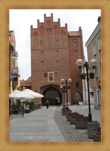 Wysoka Brama Olsztyn starówka wjazd atrakcje zabytki