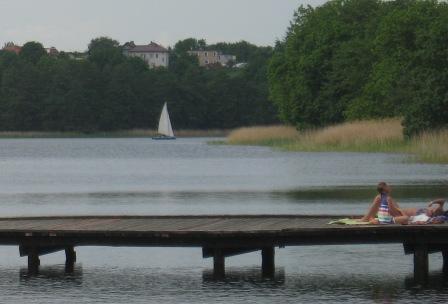 Wakacje urlop wczasy Olsztyn jeziora rekreacja