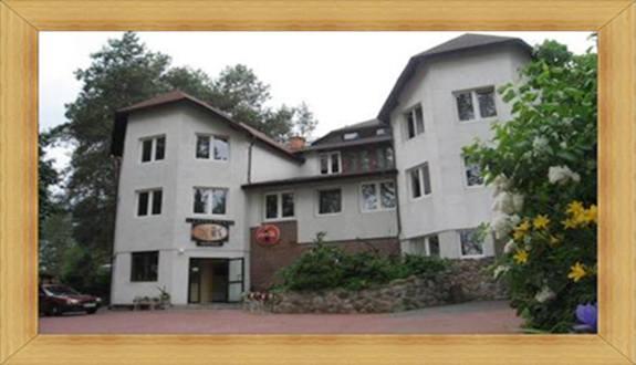 Obiekt z Zewnątrz Hotel Olsztyn Noclegi Restauracja SAK Pokoje na Wynajem z Łazienkami