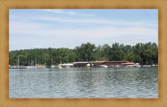 Przystań Olsztyn żaglówki łodzie kajaki