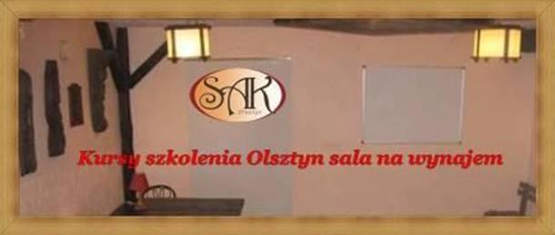 Kursy szkolenia Olsztyn sala na wynajem Hotel SAK