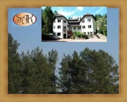 Noclegi Olsztyn i okolice Hotel SAK strefa aromatycznego lasu sosnowego
