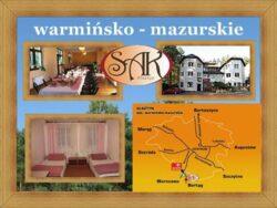 Hotele warmińsko-mazurskie Noclegi Restauracja SAK