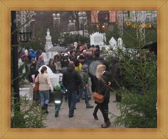 Lodowe rzeźby Olsztyn imprezy na starówce