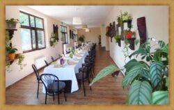 Olsztyn Sala na Uroczysty Obiad w Restauracji z Galerią Rzeźb