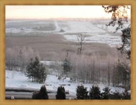 Rezerwat przyrody Hotel Olsztyn SAK widok z parkingu