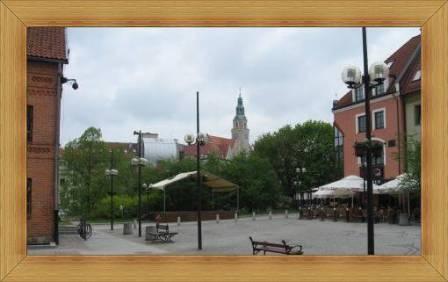 Stare Miasto Olsztyn Targ rybny