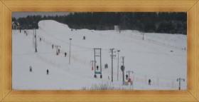 Zimowe ferie Olsztyn - Ruś Kartasiówka wyciąg narciarski