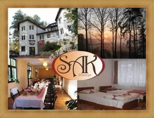 Hotel Olsztyn Restauracja SAK noclegi pokoje ze śniadaniem