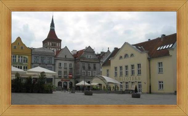 Rynek Starego Miasta Olsztyn scena