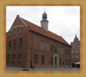 Zabytkowy ratusz Olsztyn stare miasto rynek