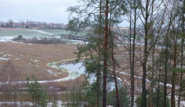 Widok z Hotelu SAK na Olsztyn i Okolice