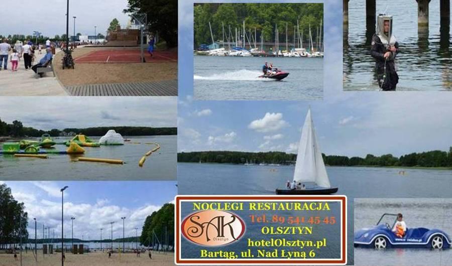 Sport i Rekreacja Olsztyn Jezioro Ukiel