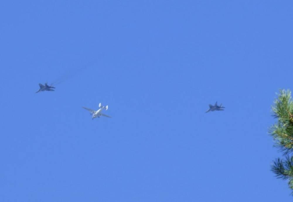 Samoloty Wojskowe Nad Olsztynem