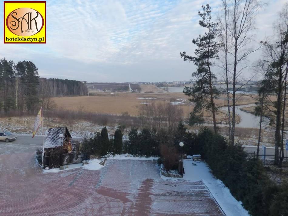 Krajobraz Olsztyn Południe Zima