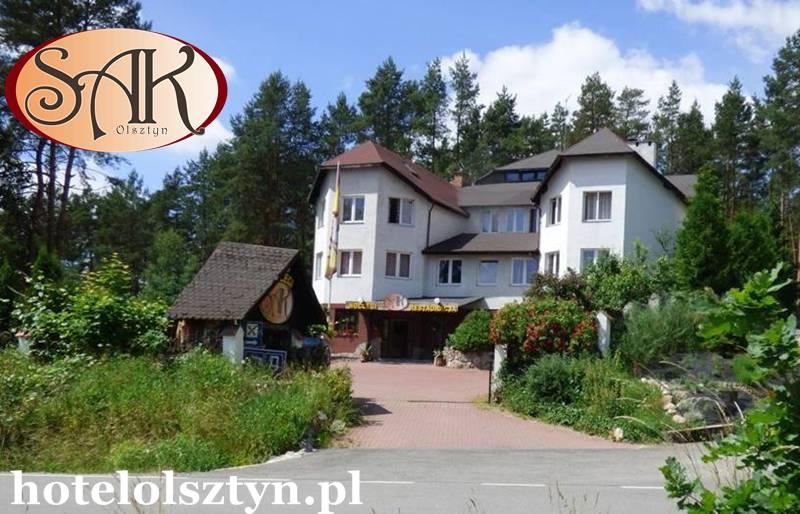 Noclegi Olsztyn Plus Wygody SAK Hotel w Naturalnym Środowisku