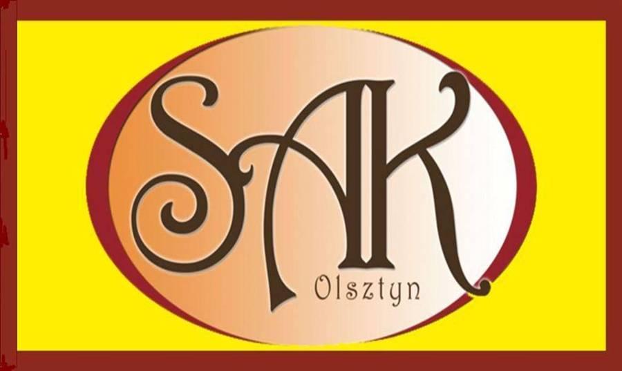 SAK Hotel Olsztyn Flaga z Logo