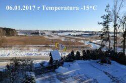 Trzech Króli Olsztyn Zima w Pełni -15°C